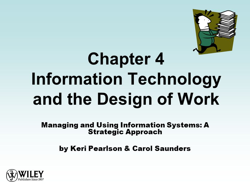 managing and using information systems a strategic approach pdf