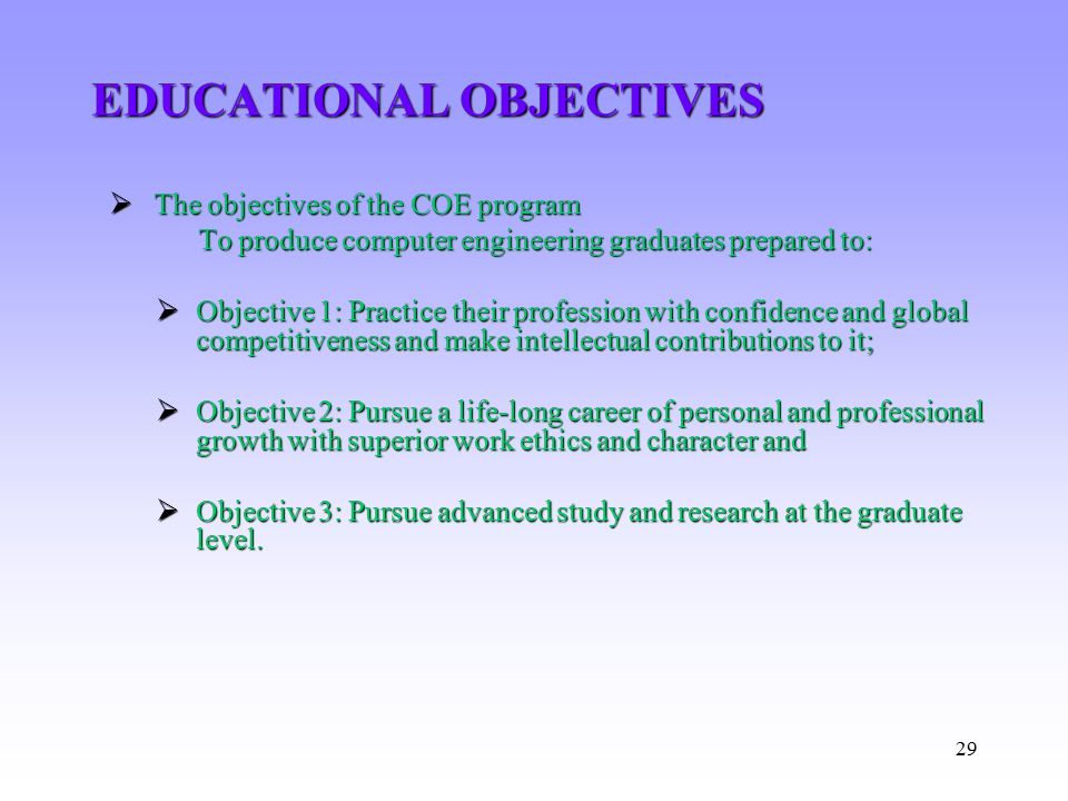 educational and professional career objectives This means you should not say your biggest career goal is to work for a different  company  however- in an interview you should always try to stay professional   continuing your education or anything else irrelevant to the position at hand.