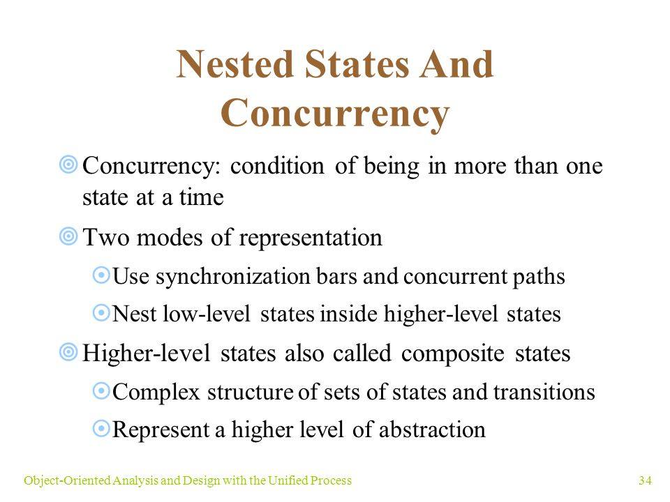 Nested States And Concurrency