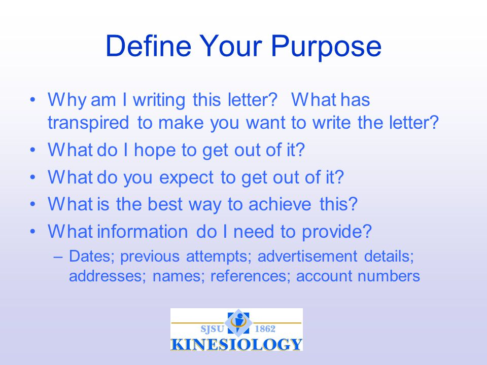 professional letter writing ppt