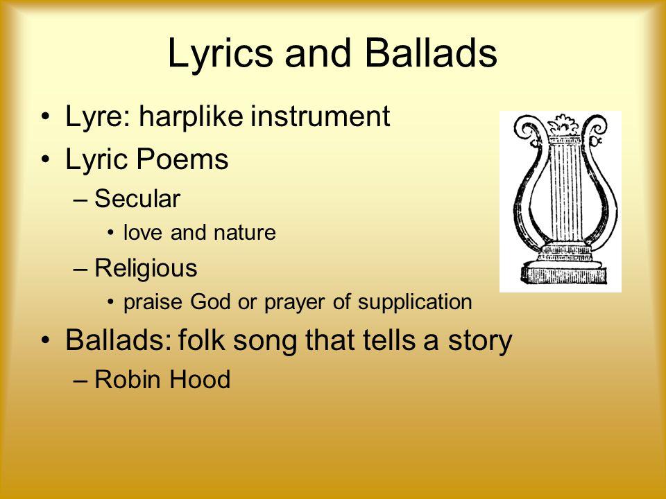 Lyric love robin hood lyrics : Unit 2: The Medieval Period - ppt video online download