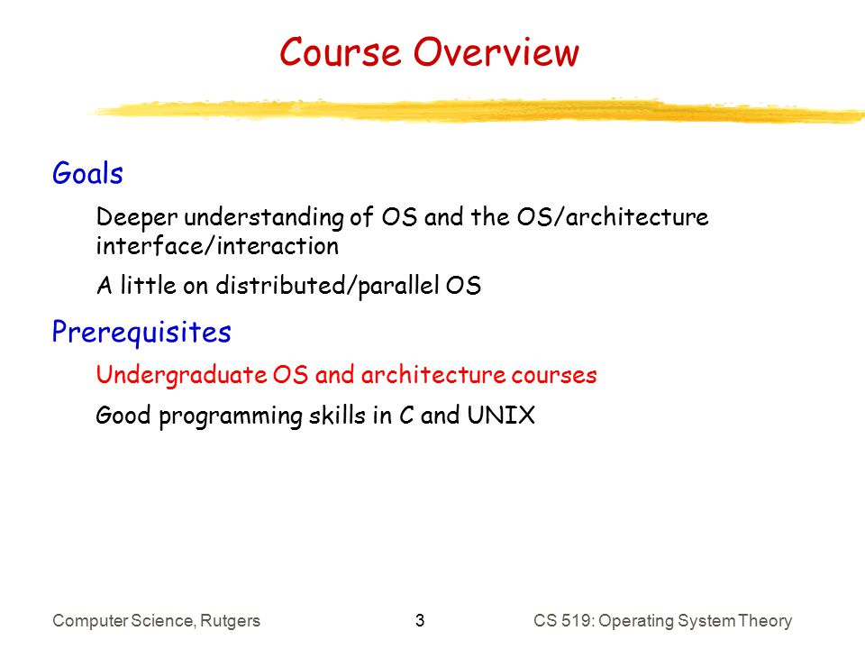 Introduction Architecture Refresher Ppt Download - Architecture prerequisites