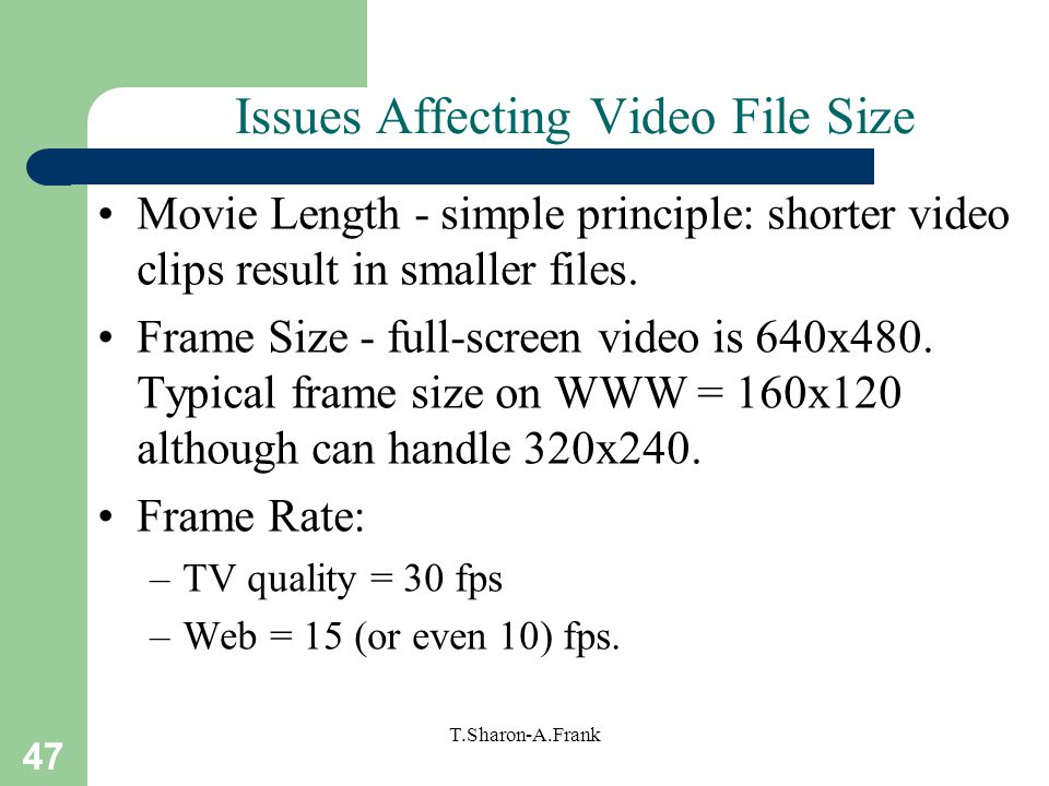 how to make a video a smaller file size