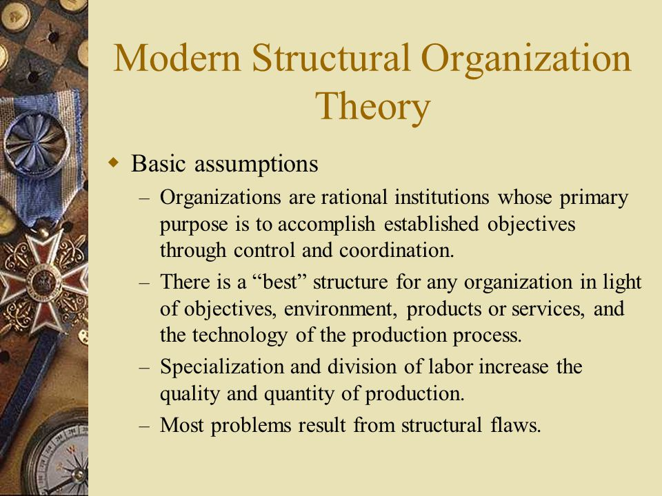 The Evolution Of Management And Organization Theory Ppt