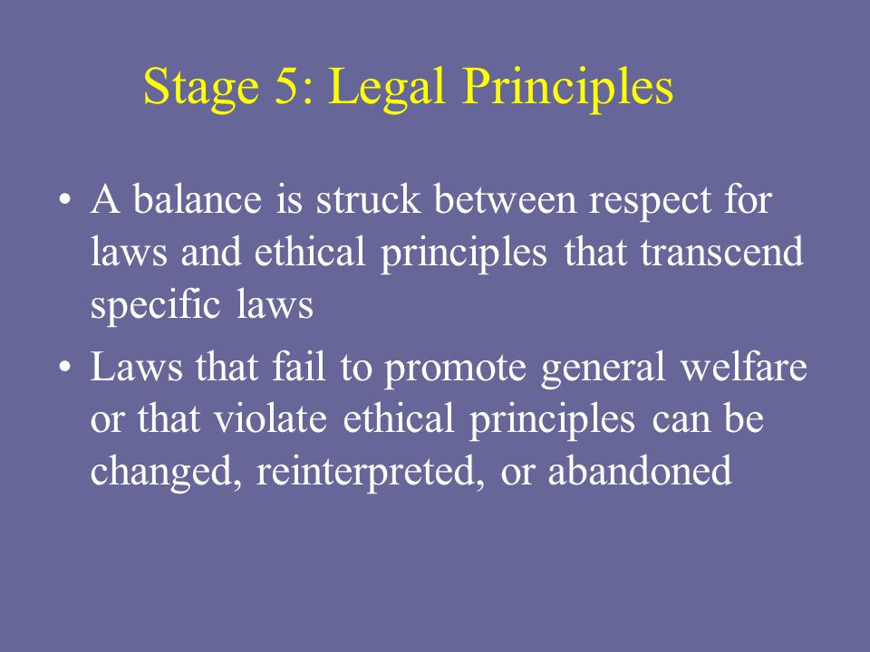 list the stages in the development of ethics standards Kohlberg's stages of moral development stable and general standards for example, whereas stage 3 bases in the name of universal ethical.
