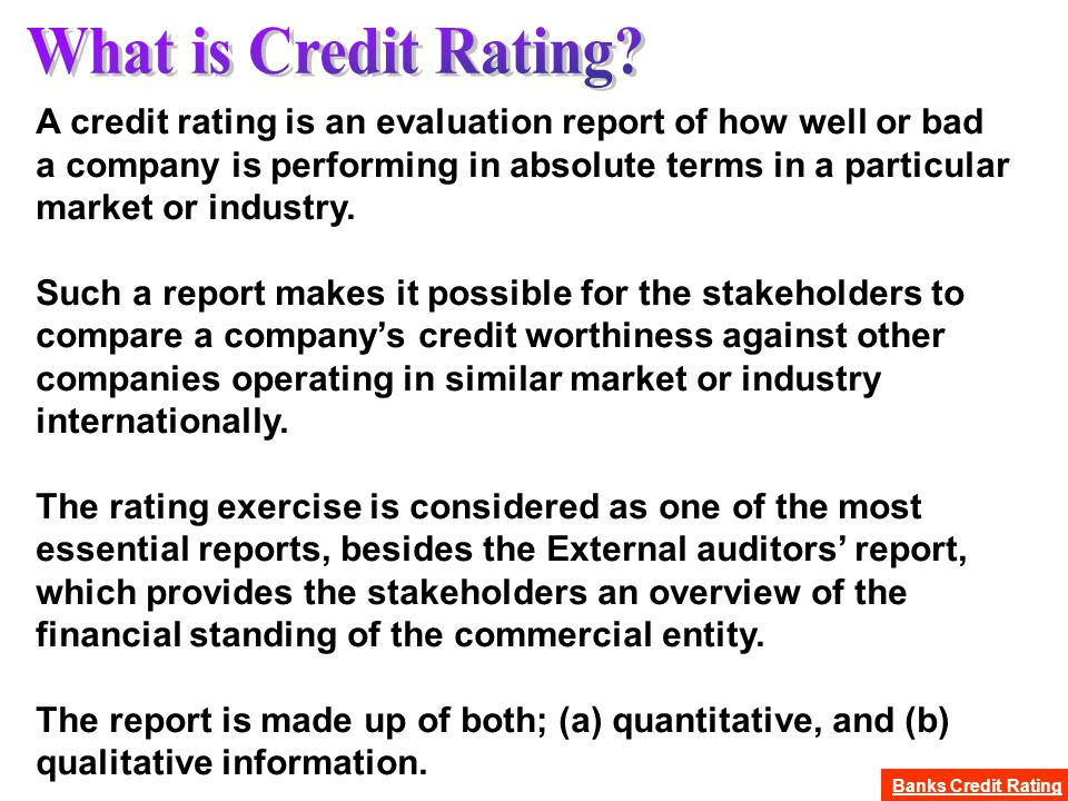 how to build up credit rating
