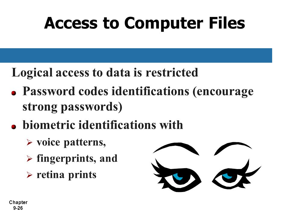 Access to Computer Files