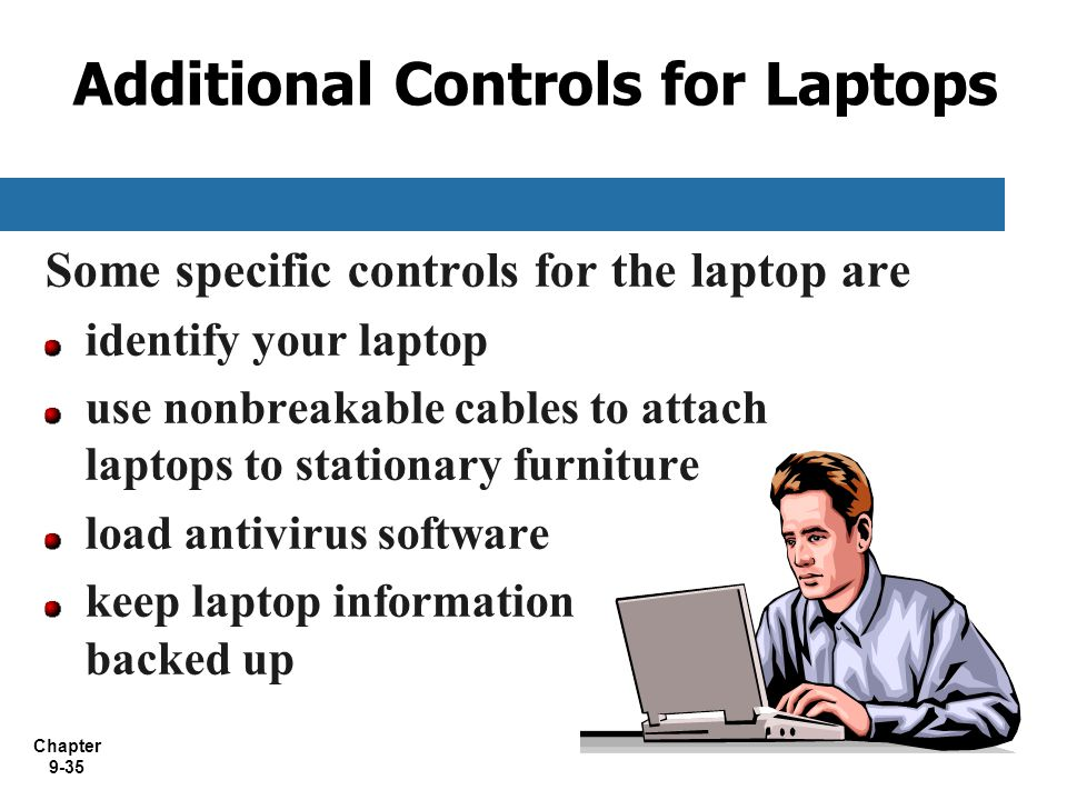 Additional Controls for Laptops