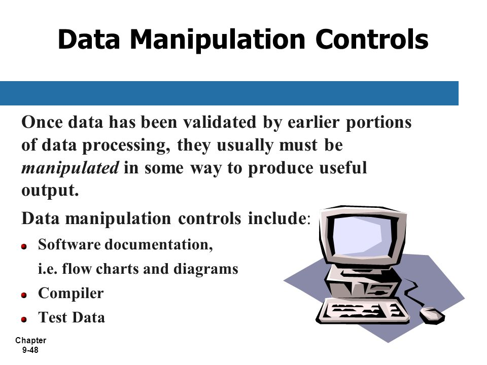 Data Manipulation Controls