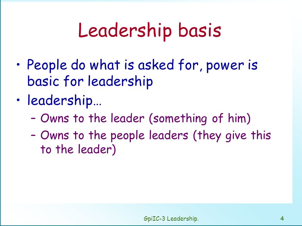 The 5 Types of Power in Leadership