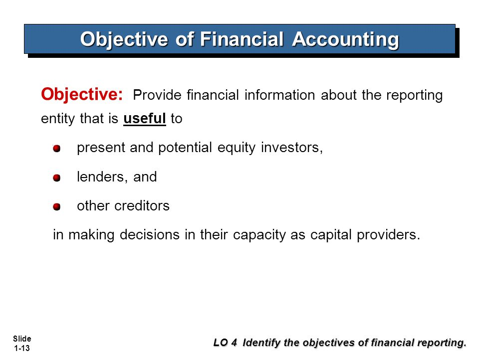 objectives of financial statements Advertisements: let us make in-depth study of the meaning, objectives and limitations of financial statement meaning: financial statements are the collective name given to income statement and positional statement of an enterprise which show the financial position of business concern in an organized manner.
