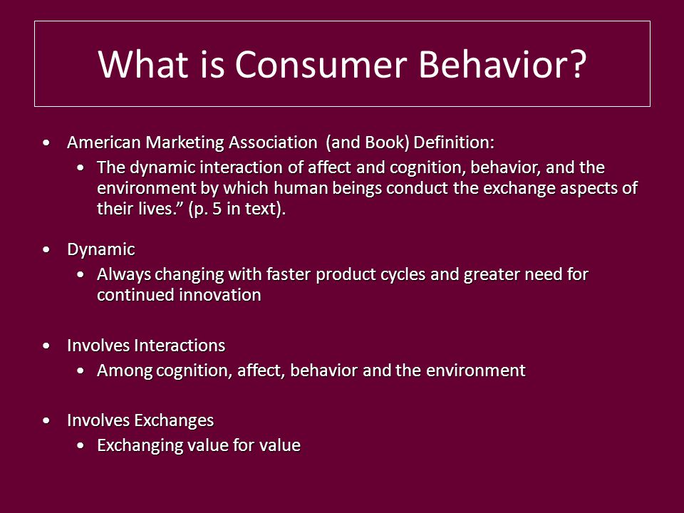 what is consumer behaviour Knowledge ¿ learn all the concepts related to market behaviors that are used in  business management (strategic and operational marketing) ¿ know and.
