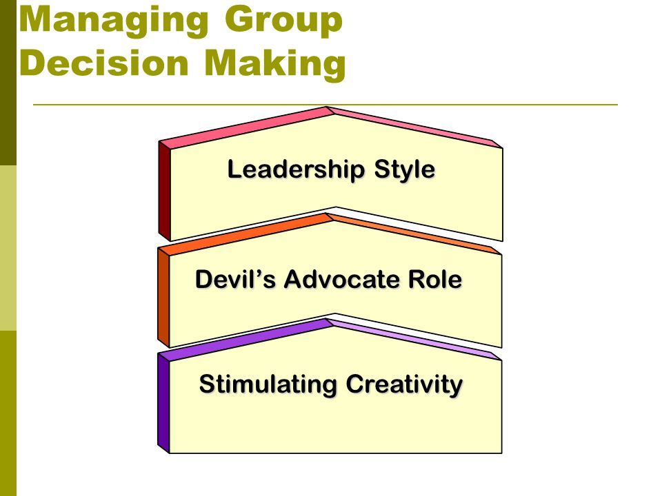 role of a leader in decision The importance of decision-making is there any more crucial capability for a  business leader or team to have than effective decision-making.