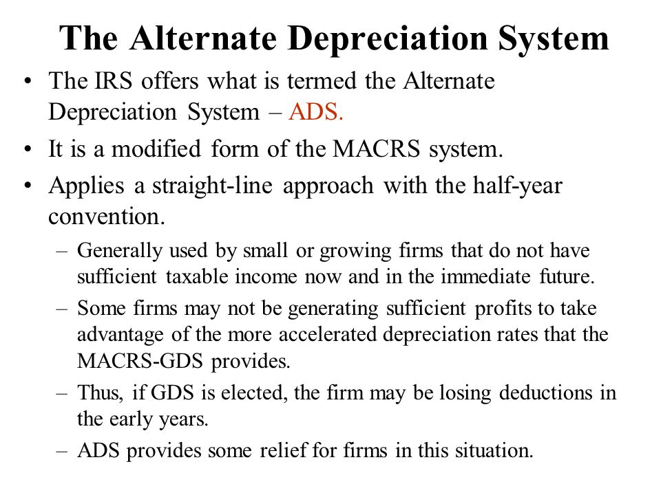 Depreciation And Income Taxes Ppt Video Online Download