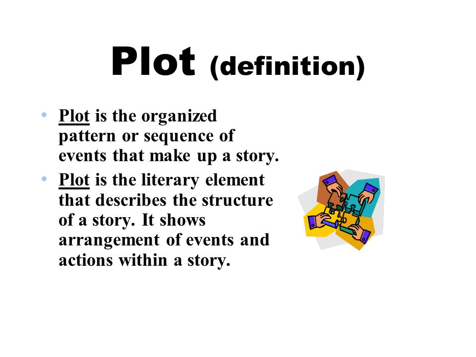 the meaning of plot in literature