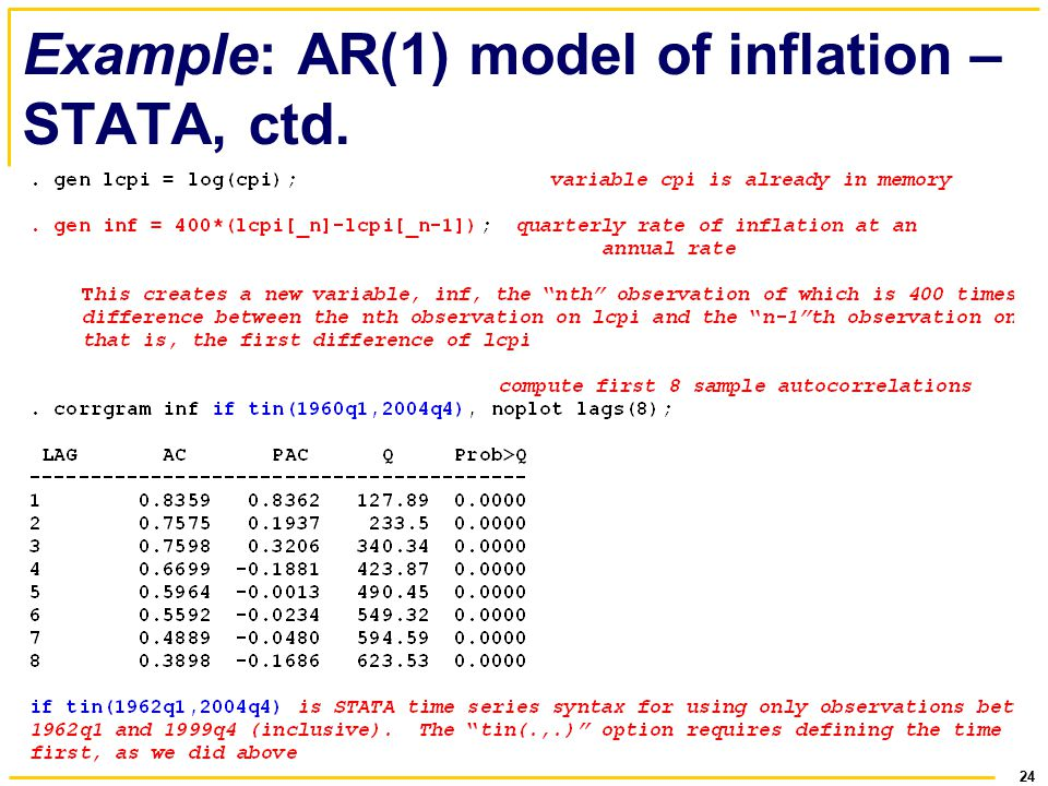 introduction to time series using stata pdf