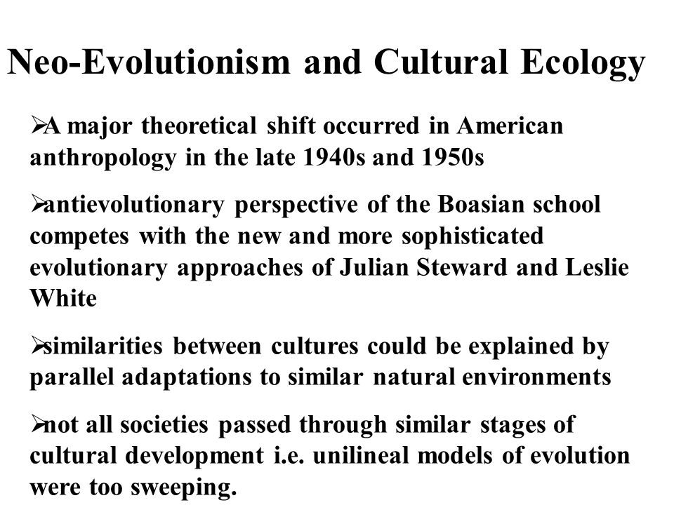 cultural ecology is the analysis of relationship between jurisdiction