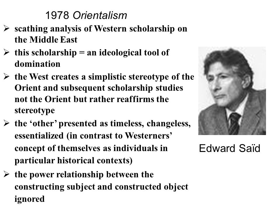 an analysis of orientalism by edward Amazoncouk: orientalism edward said amazoncouk try prime all a macat analysis of edward said's orientalism 9 jun 2016 £515-£1999.