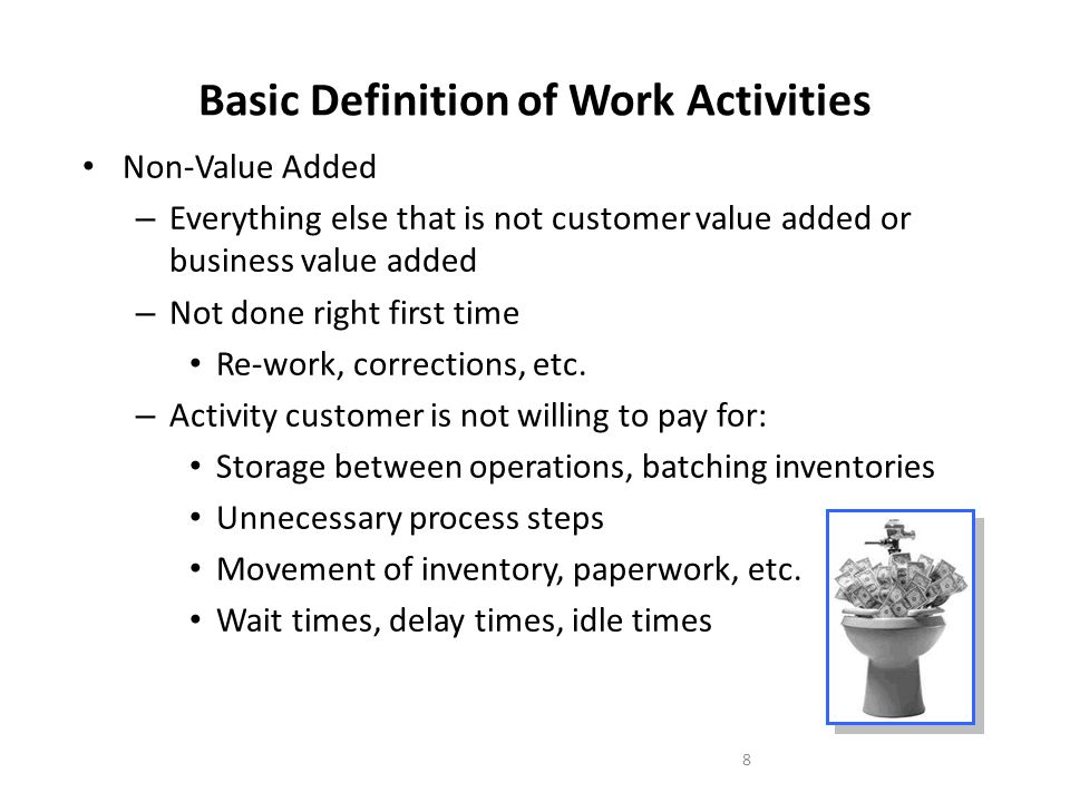 Value Analysis and Waste Identification - ppt download