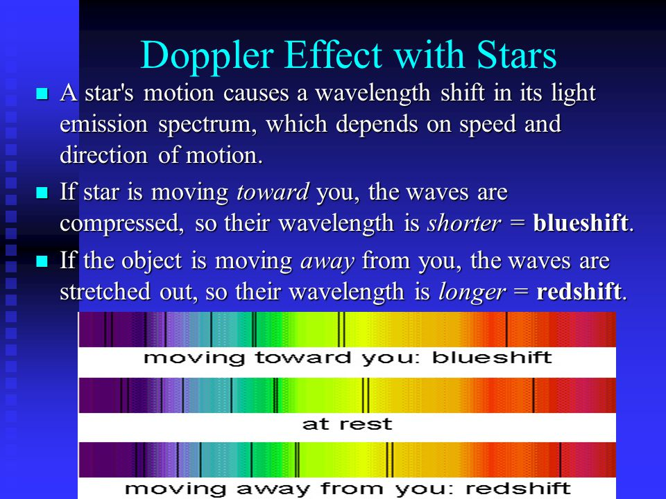 the expansion of galaxies: the doppler effect essay If redshifts of distant galaxies are due to expansion, then their redshifts reflect distance, and we say their redshifts are cosmological doppler effect a technical point is that within general relativity, distant galaxies aren't moving through space away from us.