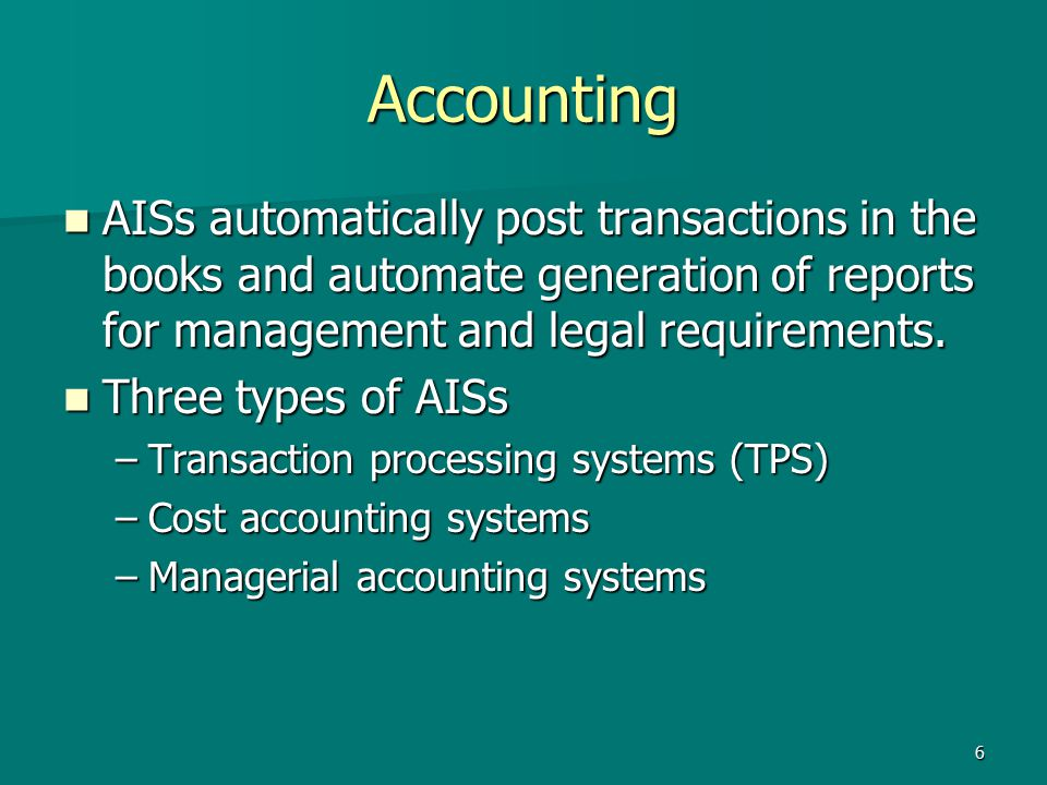 accounting information system requirements This system like other information systems should be carefully designed to be  able to meet users' requirements the main aim of this research.