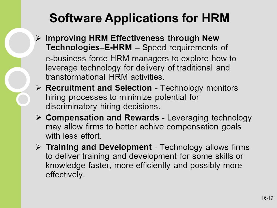 hrm application software