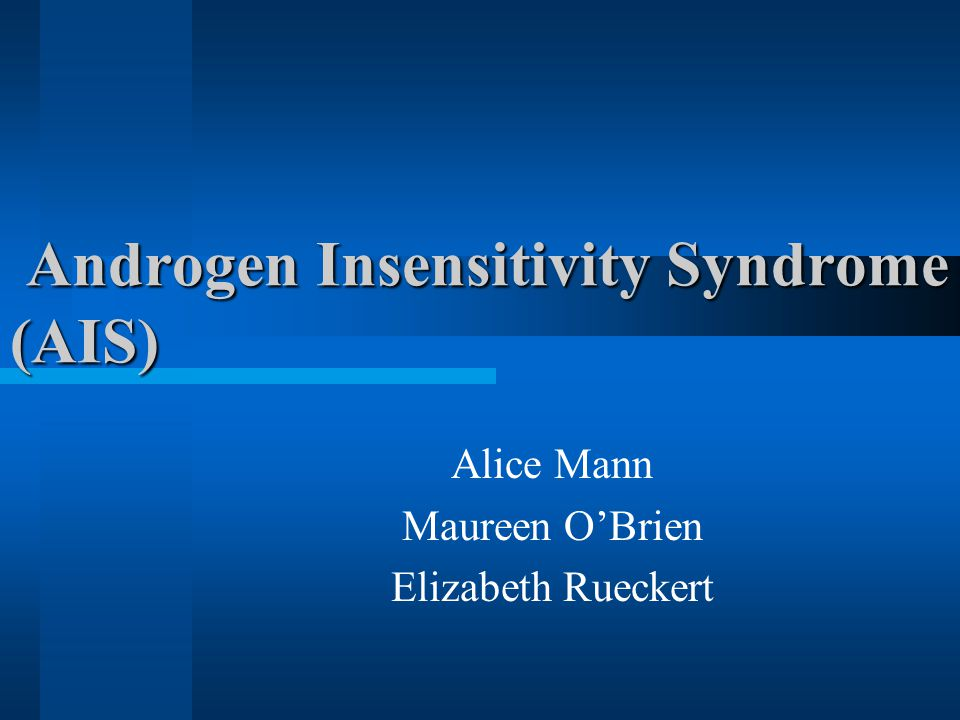 androgen insensitivity syndrome ais essay