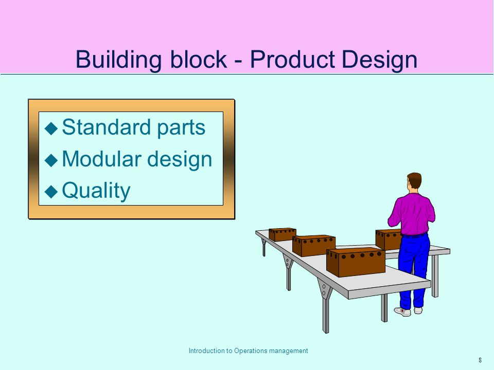 Building block - Product Design
