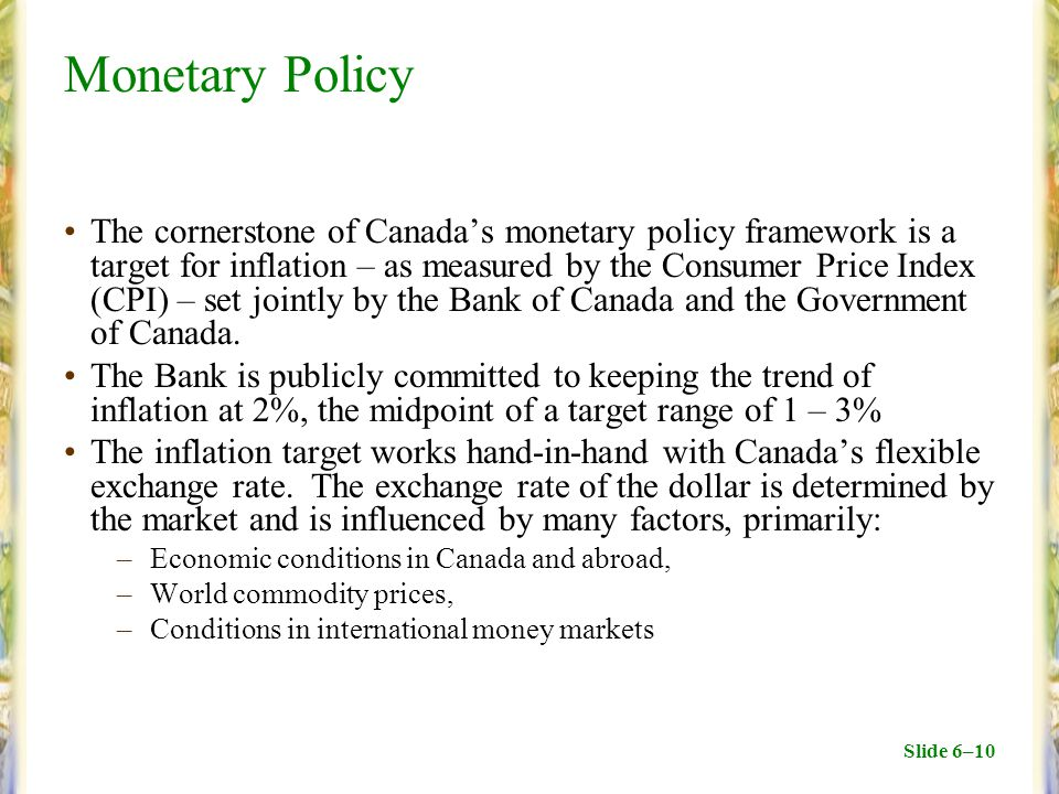 Structure of Central Banks and the Bank of Canada - ppt ...