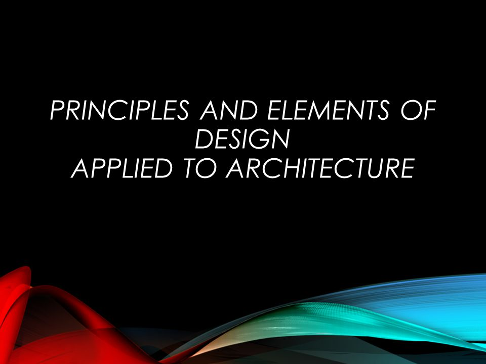 Principles Elements Of Design : Elements and principles of interior design ppt