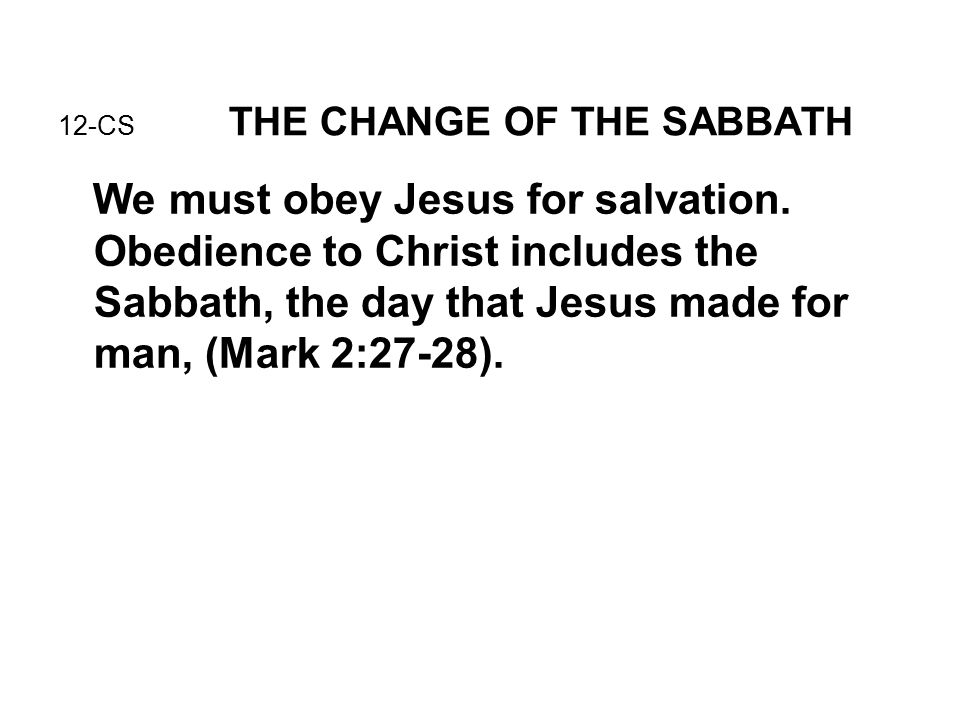 should conscience be obeyed 35 marks Mark 10:24-27 introduces the idea that salvation is a gift from god, not something we earn by our own efforts in the not only must we not give false testimony ( exodus 20:16), we should even avoid evil thoughts and speech (matthew 12:35- 37) cling tightly to your faith in christ, and always keep your conscience clear.