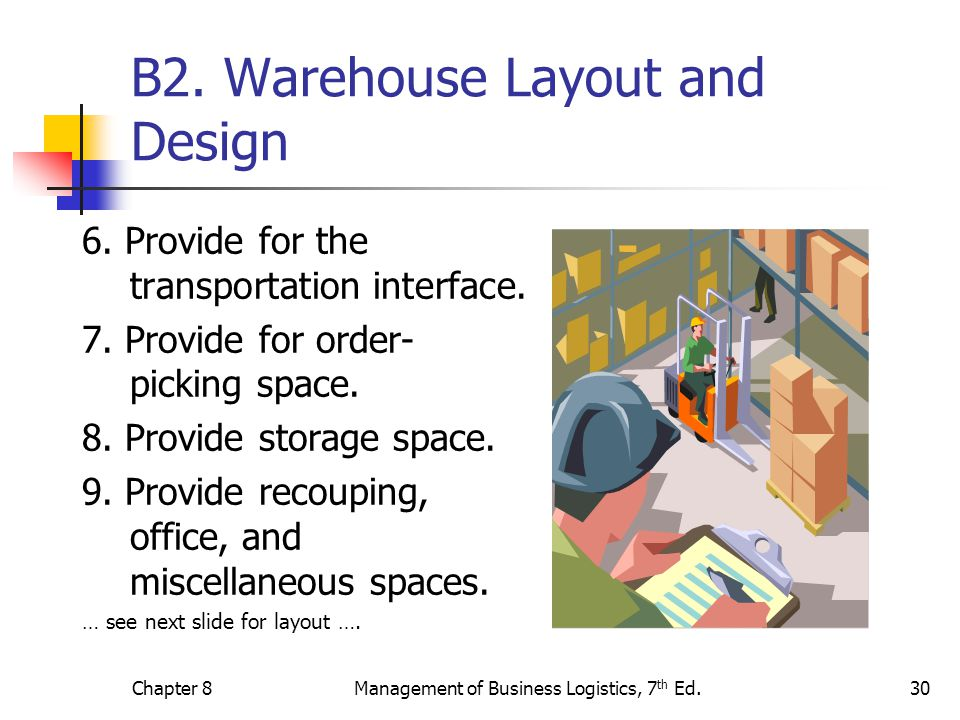 B2. Warehouse Layout and Design