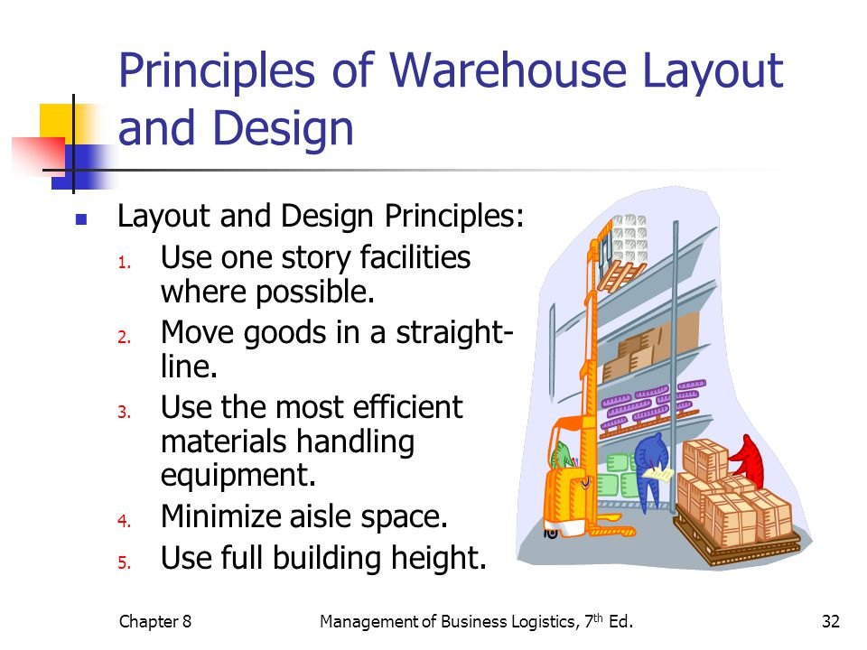 Principles of Warehouse Layout and Design