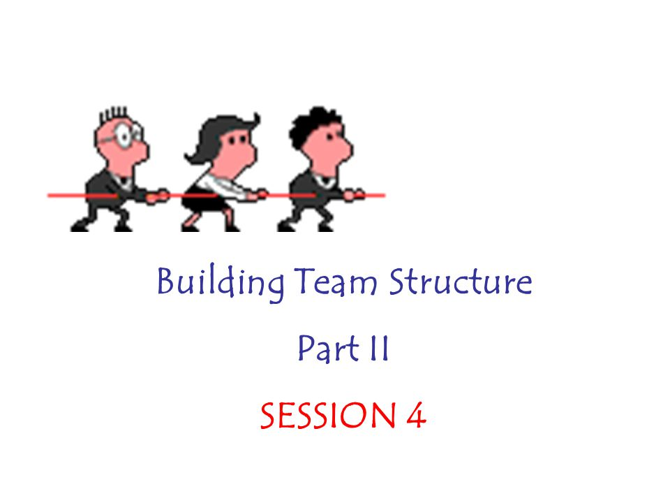 Building Team Structure