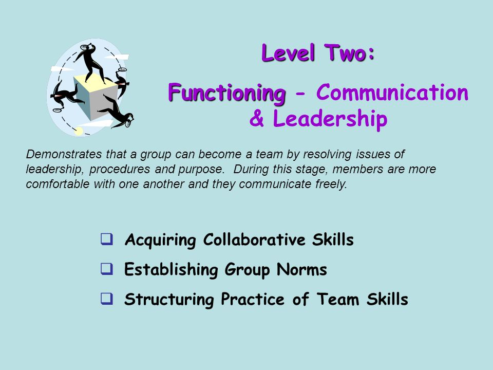 Functioning - Communication & Leadership