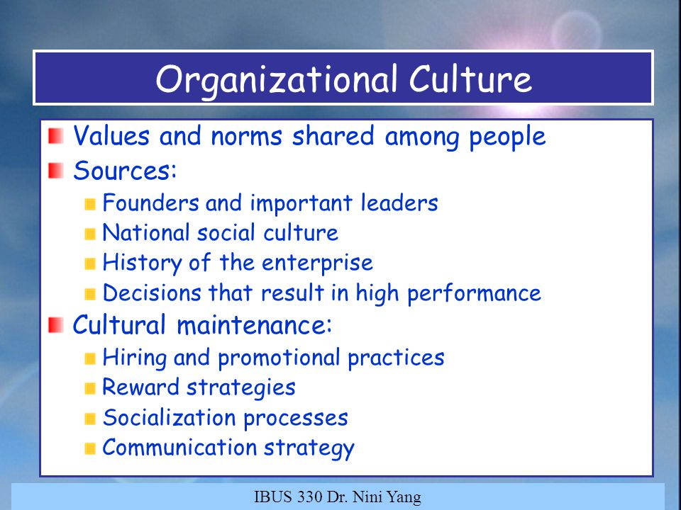 organizational culture and value of strategic leader Seated aspects of culture such as values and beliefs authority examples illustrate that clear strategic leadership is necessary to ensure the consistency of.