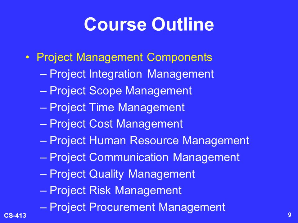 course outline promotion management Promotion management mkt 337 – course outline – summer 2012 lecturer – md shahedur rahman school of business north south university mkt 337 promotion management.