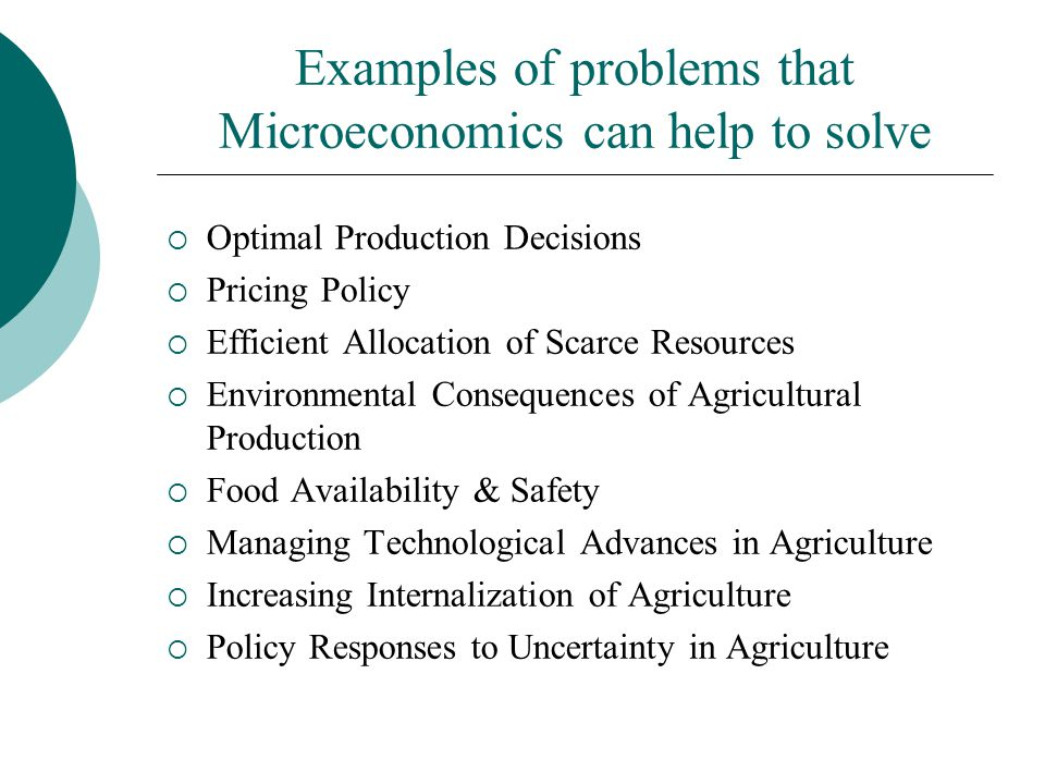 Aaec 3315 Agricultural Price Theory Ppt Video Online Download