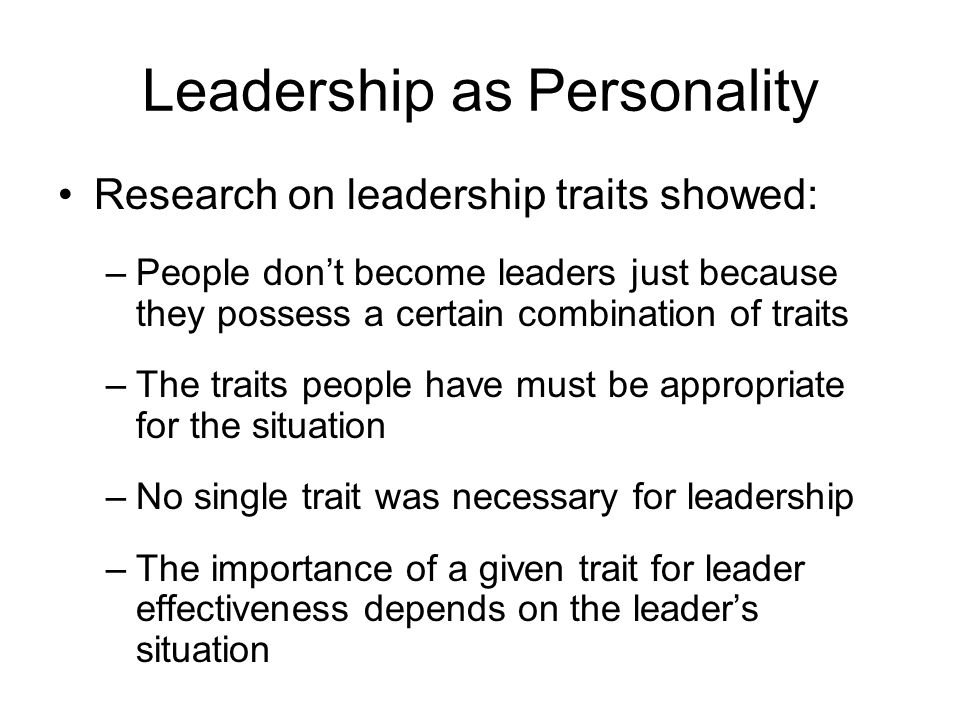 "what qualities does a leader have to possess 1 what qualities should an effective leader possess ""i suppose leadership at one time meant muscles but today it means getting along with people""."
