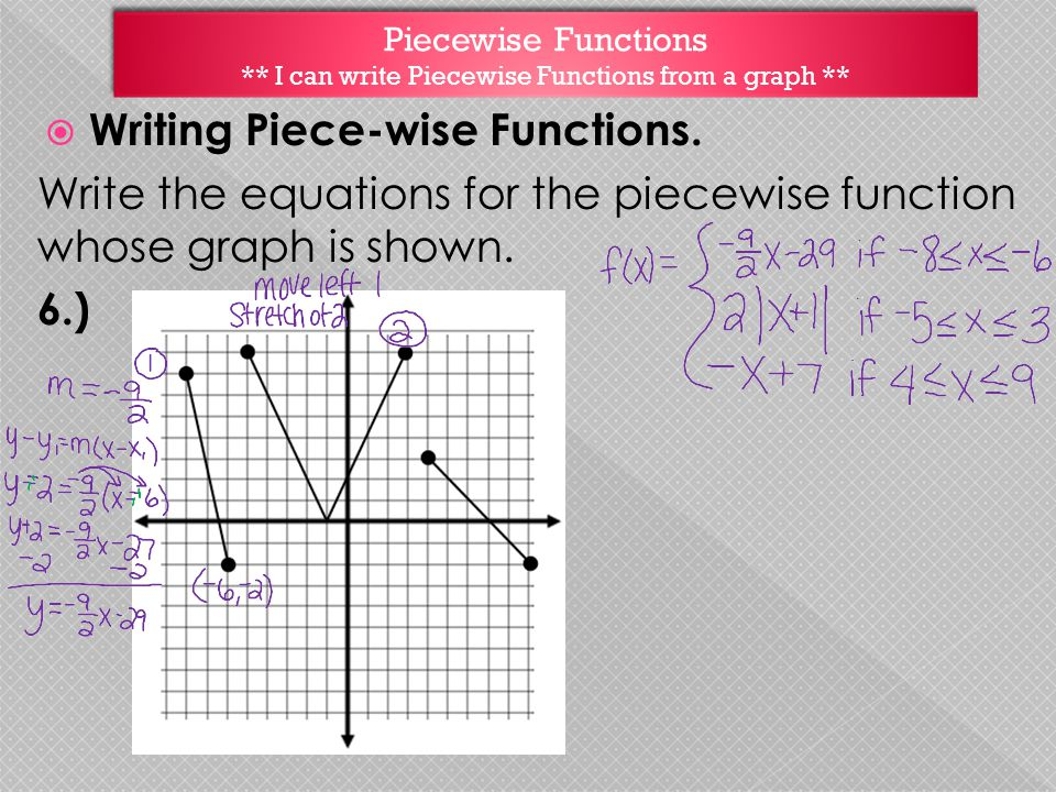 piecewise functions learning targets i can graph piecewise functions ppt download. Black Bedroom Furniture Sets. Home Design Ideas