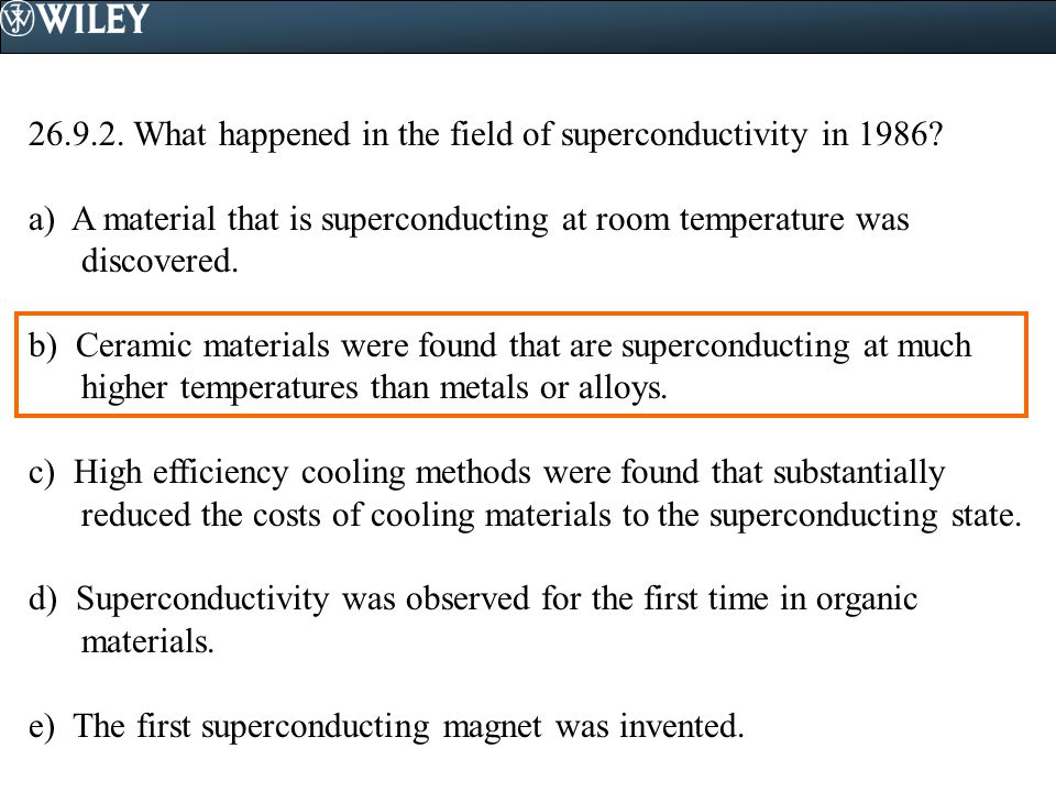 What happened in the field of superconductivity in 1986