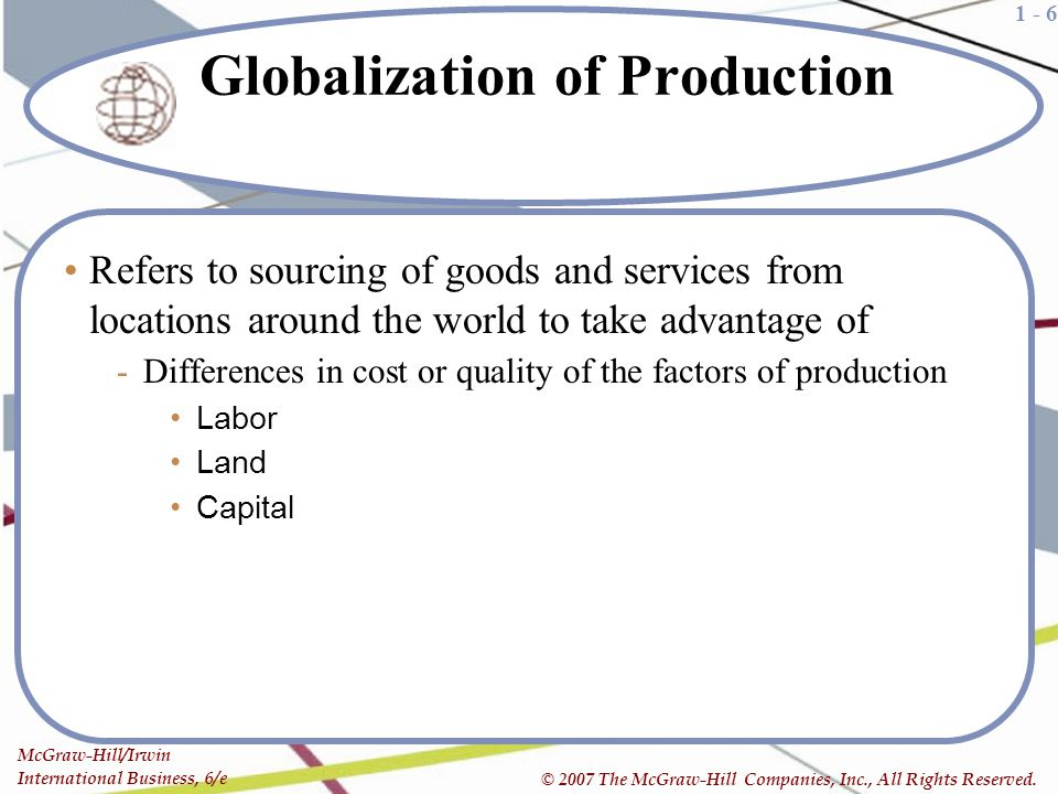 7 Factors Influencing Globalization – Discussed!