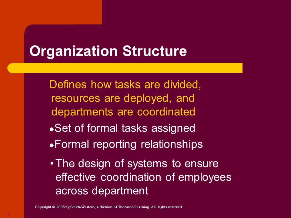 Organization Structure