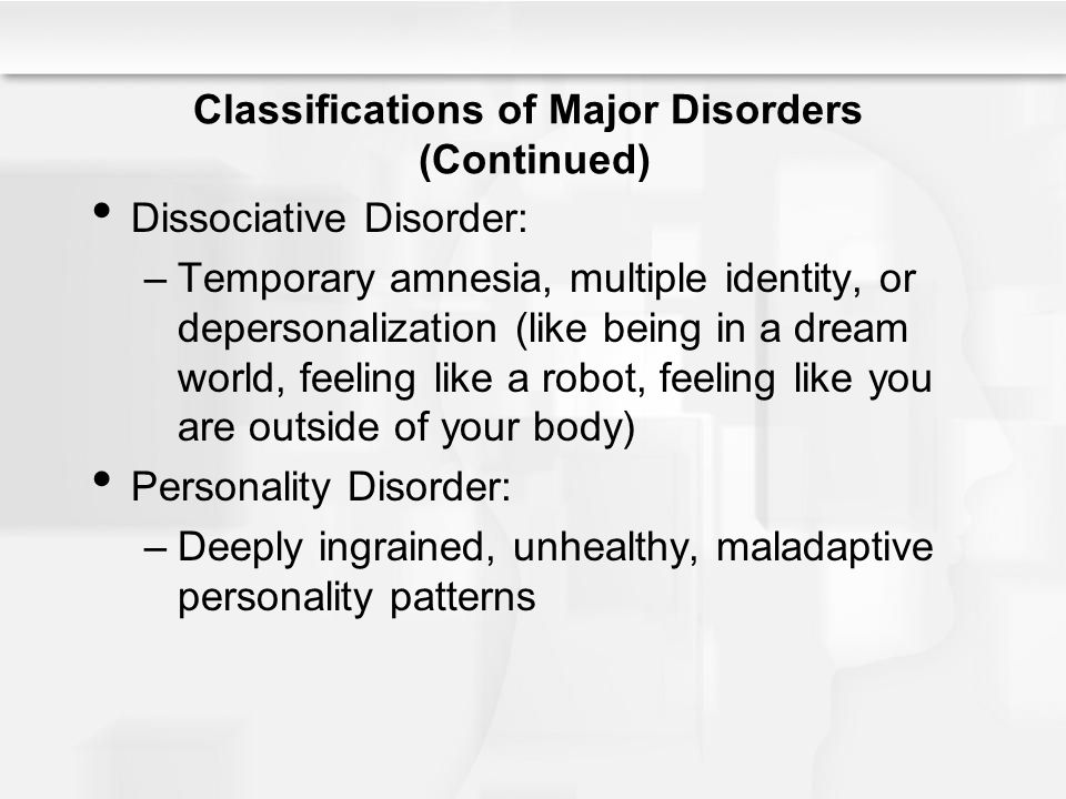 an analysis of multiple personality disorder or dissociative identity disorder Transcript of analysis of dissociative identity disorder:  analysis of dissociative identity disorder:  dissociative identity disorder.