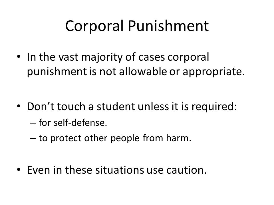 Child corporal punishment laws