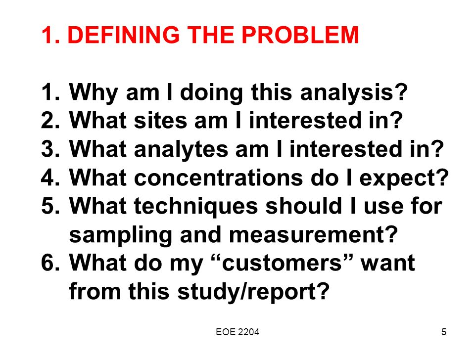 5 common sampling techniques used in Data analysis techniques (what  sampling media the pump is used to  common sorbent materialscommon sorbent materials.