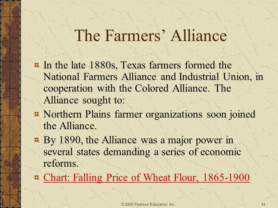 Southern Farmers' Alliance: A Voice for the Farmers