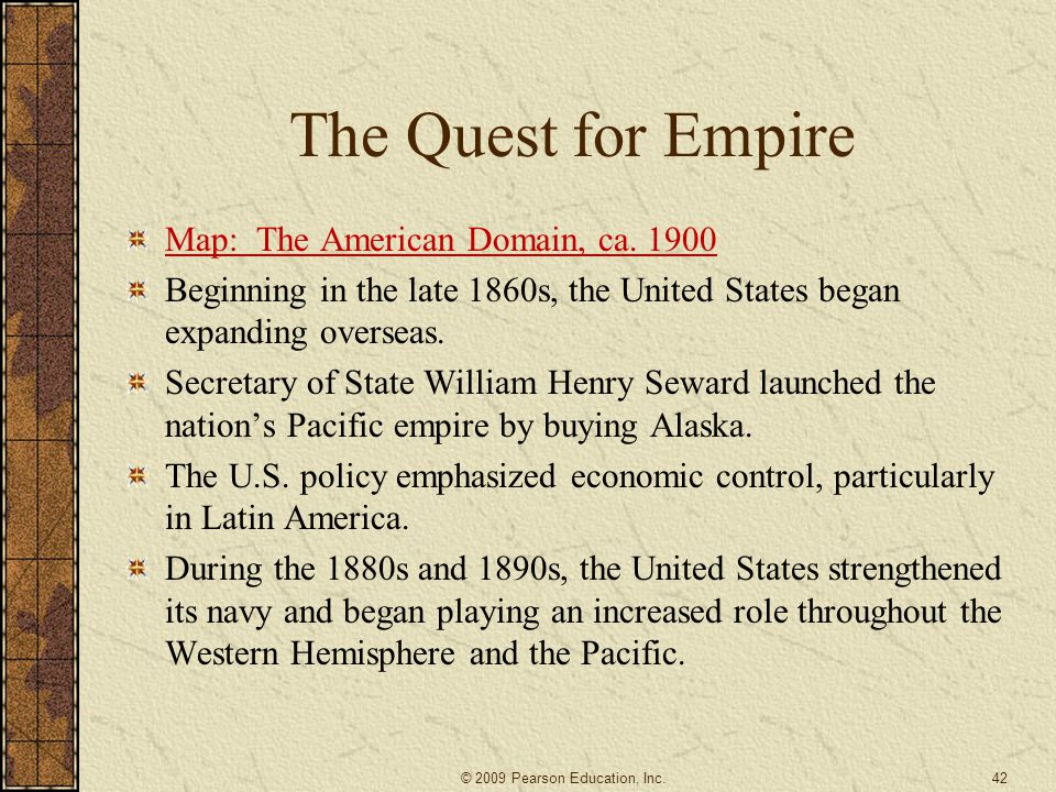 A HISTORY OF THE AMERICAN PEOPLE Ppt Video Online Download - Us empire map pacific