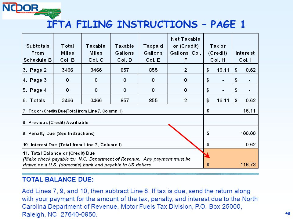 completing an ifta tax return ppt video online download