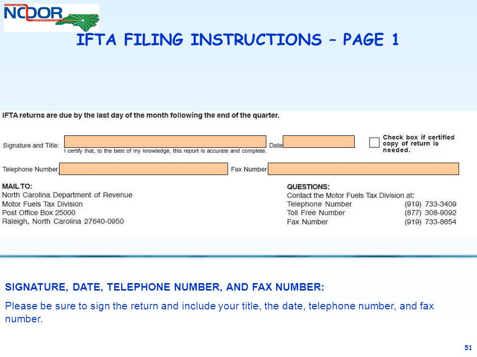 Completing an ifta tax return ppt video online download for Nc division of motor vehicles driving log